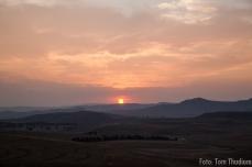 Sunset Drakensberge