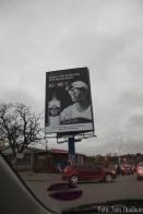Afrikanischer Verkehr - geile Werbung