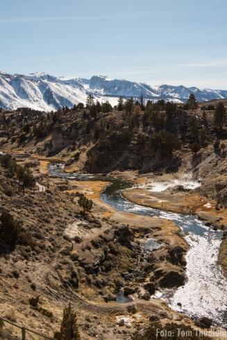 Hot creek (leider darf man hier nicht mehr baden)