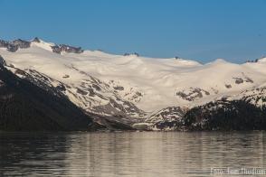Garibaldy lake und gletscher