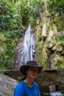 La Merced Wasserfall mit hübschem Vordergrund